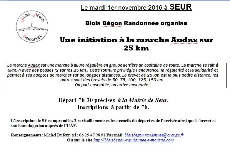 Audax 25 km 1
