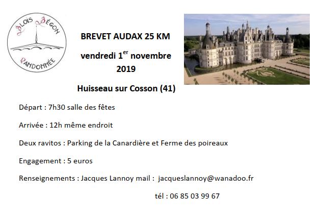 Bbr audax 1 nov 2019